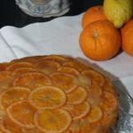 Winter Cytrus Upside Down Cake … Torta speziata agli agrumi per Re-Cake 2.0
