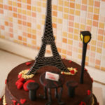 Date in Paris cake